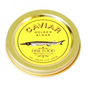 Golden Almas Caviar