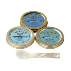 The Connoisseur Caviar Taster Set, 3 Pots (Up to £525 Discount)