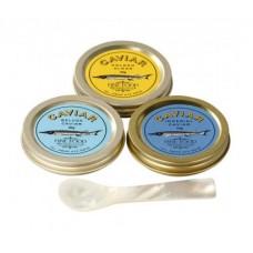 The Sensational Caviar Trio Taster Set, 3 x 10g