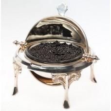 Silver Plated Caviar Server