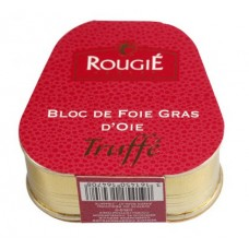 Rougie Bloc Of Goose Foie Gras with Truffle, 75g