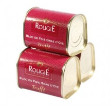 Rougie Goose Foie Gras With Truffles Trio Set, 3 x 145g, Exclusive 12% Discount